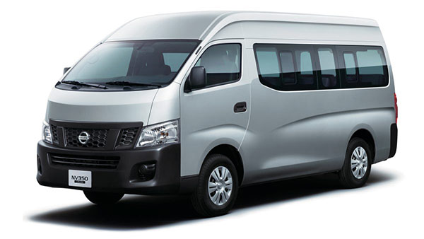 Nissan NV350 URVAN Van Rental