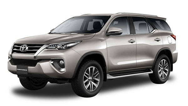 Toyota Fortuner Davao Rental