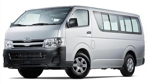 Toyota Hiace Van Rental Davao City