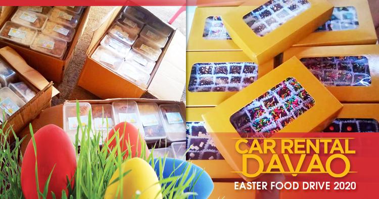 Car Rental Davao's Easter Food Drive